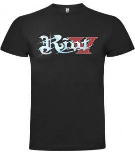 Riot V Logo Camiseta Manga Corta Bandas