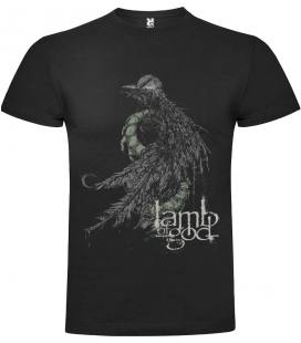 Lamb Of God Serpent Camiseta Manga Corta Bandas