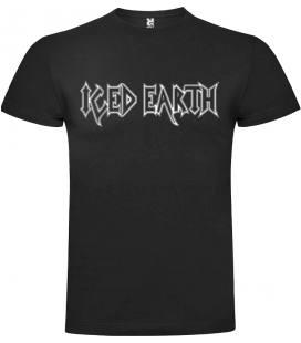 Iced Earh Logo Camiseta Manga Corta Bandas