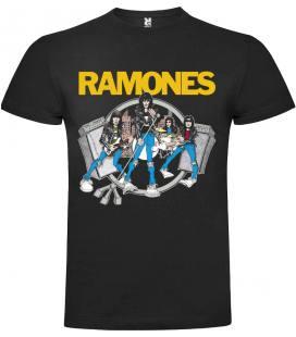 Ramones Road To Ruin Camiseta Manga Corta Bandas