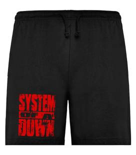 System Of A Down Logo Bermudas
