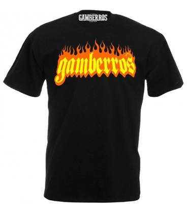 Camiseta Gamberros Llamas