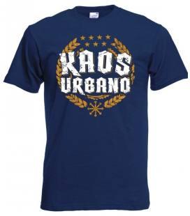 Camiseta Kaos Urbano Logo Laureles, Azul Marino