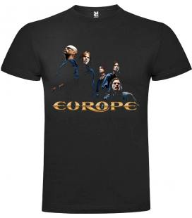 Europe Start From the Dark Camiseta Manga Corta Bandas