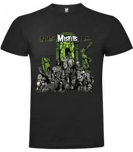 Misfits Earth A.D. Camiseta Manga Corta Bandas
