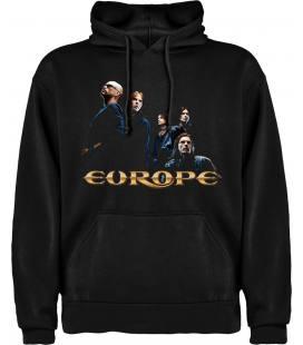 Europe Start From the Dark Sudadera con capucha y bolsillo
