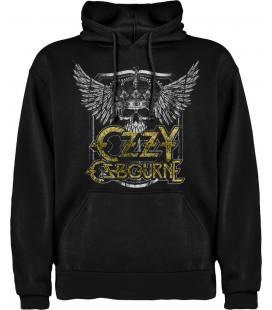 Ozzy Osbourne Skull Sudadera con capucha y bolsillo