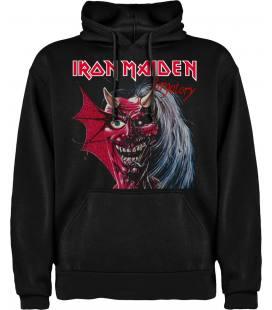 Iron Maiden Purgatory Sudadera con capucha y bolsillo