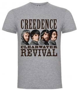 Creedence Clearwater Revival Band Camiseta Manga Corta Bandas