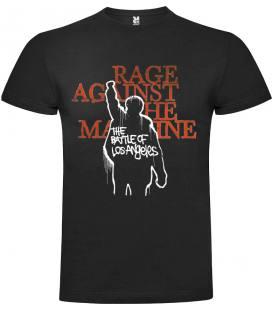 Rage Against the Machine - The Battle of Los Angeles Camiseta Manga Corta Bandas