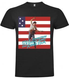 Bruce Springsteen - The River Tour Camiseta Manga Corta Bandas
