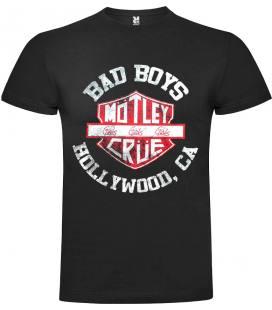 Motley Crue - Bad Boys Camiseta Manga Corta Bandas