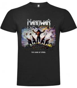 Manowar - The Lord of Steel Camiseta Manga Corta Bandas