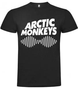 Arctic Monkeys - Am Camiseta Manga Corta Bandas