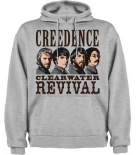 Creedence Clearwater Revival Band Sudadera con capucha y bolsillo