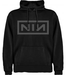 Nine Inch Nails Nin Sudadera con capucha y bolsillo