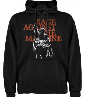 Rage Against the Machine - The Battle of Los Angeles Sudadera con capucha y bolsillo