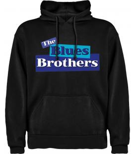 The Blues Brothers Logo Sudadera con capucha y bolsillo