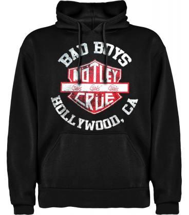 Motley Crue - Bad Boys Sudadera con capucha y bolsillo