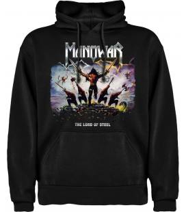 Manowar - The Lord of Steel Sudadera con capucha y bolsillo