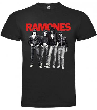 Ramones Band Camiseta Manga Corta Bandas