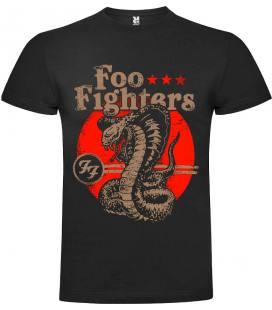 Foo Fighters Serpent Camiseta Manga Corta Bandas