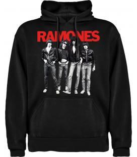 Ramones Band Sudadera con capucha y bolsillo