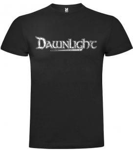 Camiseta Negra Manga Corta Dawnlight Logo