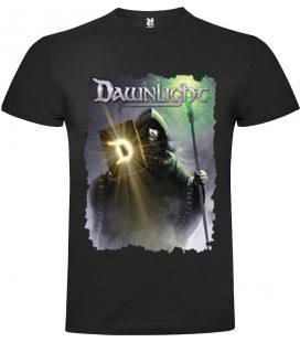 Camiseta Negra Manga Corta Dawnlight Mago