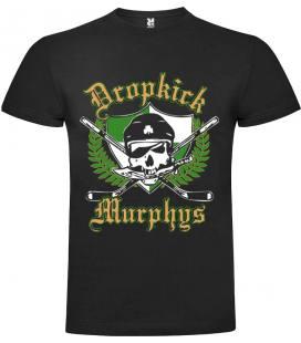 Dropkick Murphys Logo Camiseta Manga Corta Bandas