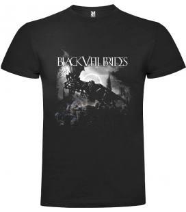 Black Veil Brides IV Camiseta Manga Corta Bandas