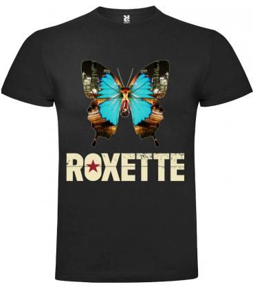 Roxette Butterfly Camiseta Manga Corta Bandas