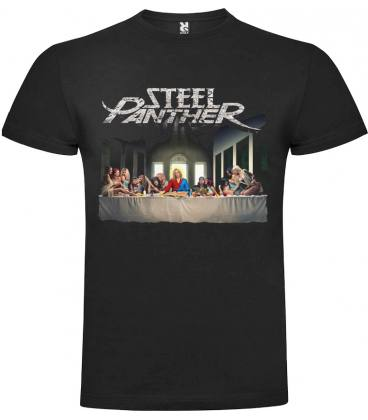 Steel Panther All You Can Eat Camiseta Manga Corta Bandas