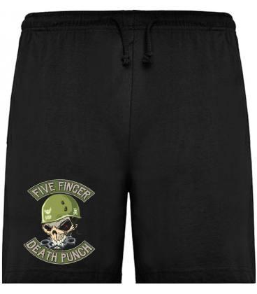 Five Finger Death Punch Skull Bermudas