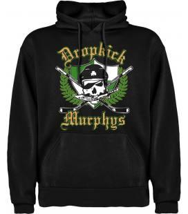 Dropkick Murphys Logo Sudadera con capucha y bolsillo