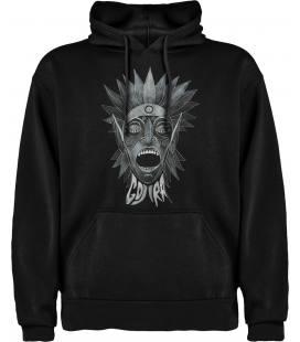 Gojira Scream Sudadera con capucha y bolsillo