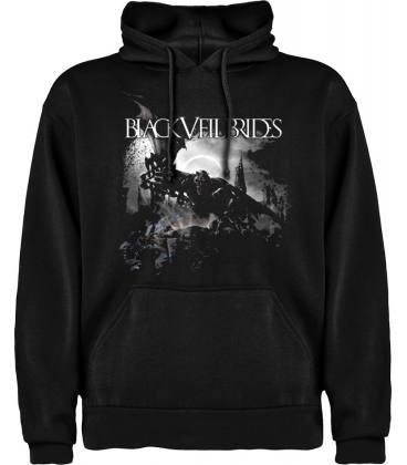 Black Veil Brides IV Sudadera con capucha y bolsillo