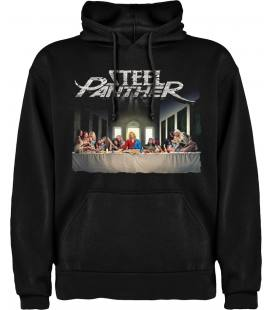 Steel Panther All You Can Eat Sudadera con capucha y bolsillo