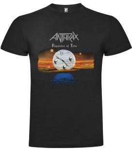 Anthrax Persistence Of Time Camiseta Manga Corta Bandas