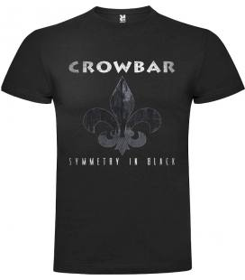 Crowbar Symmetry In Black Camiseta Manga Corta Bandas