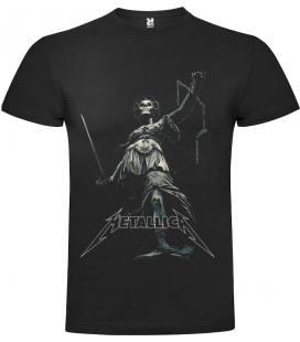 Metallica Lex Camiseta Manga Corta Bandas
