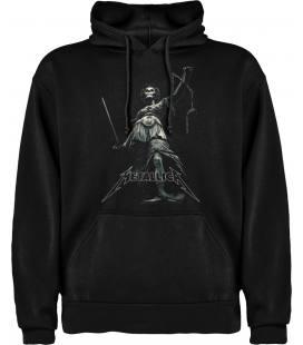 Metallica Lex Sudadera con capucha y bolsillo