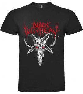 Black Witchery Infernus Camiseta Manga Corta Bandas