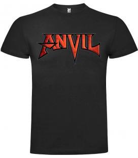 Anvil Logo Camiseta Manga Corta Bandas