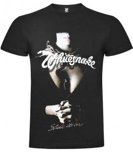 Whitesnake Slide It In Camiseta Manga Corta Bandas