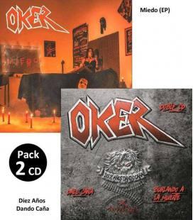 Pack Miedo (EP) / Diez Años Dando Caña (2 CD Ed.Limitada)