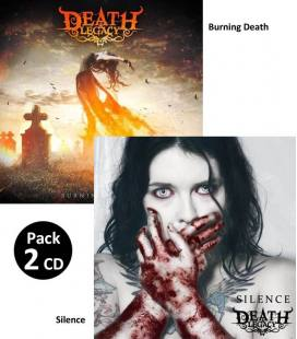 Pack Burning Death / Silence (2 CD)