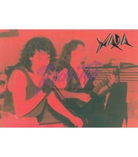 Postal Xada - Colección Hard Rock Español