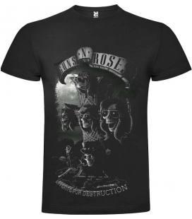 Guns N Roses Appetite Camiseta Manga Corta Bandas