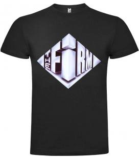 The Firm Logo Camiseta Manga Corta Bandas